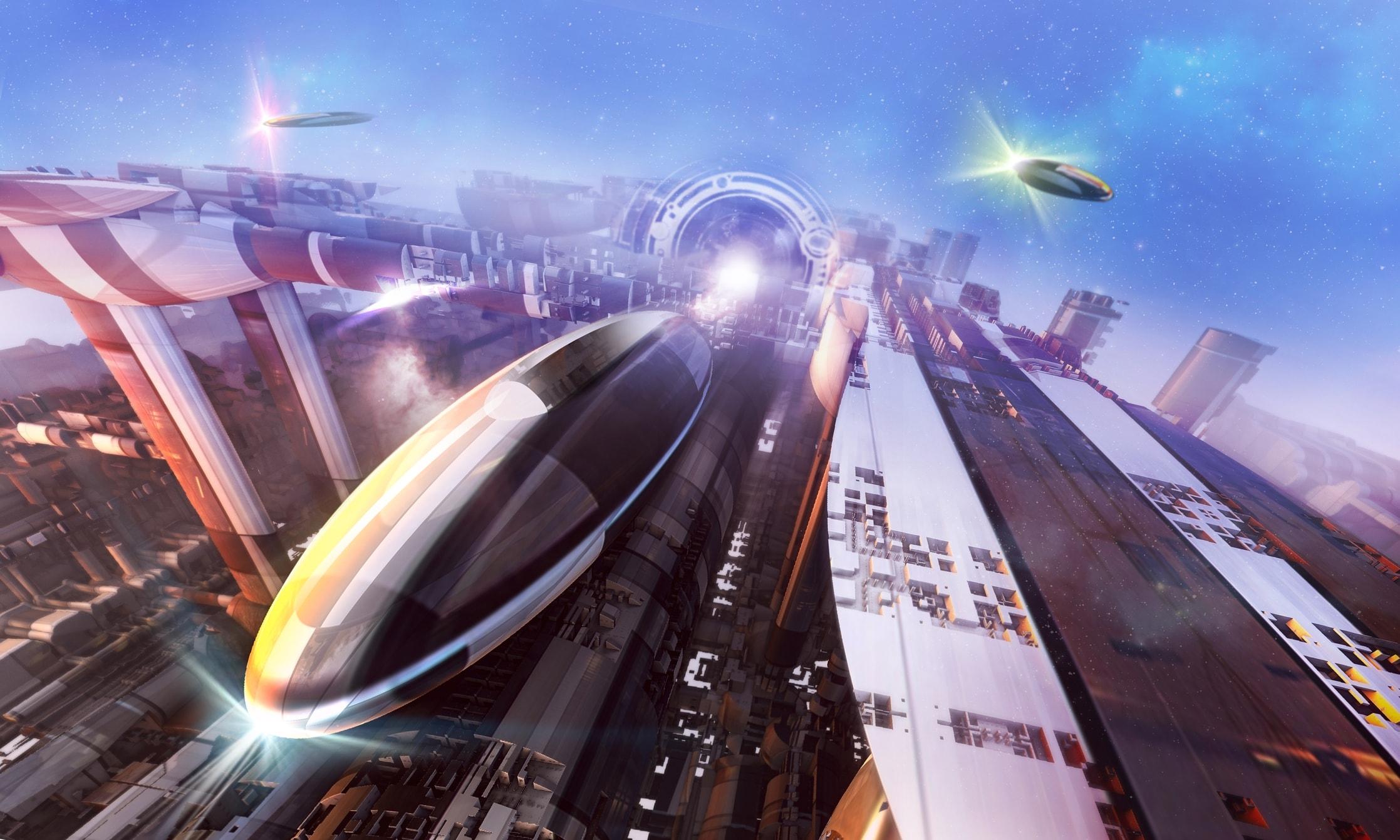 Hyperloop hoverboard sea bubble zoom sur les transports - Www oney fr ...